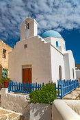 Church, Lefkes, Pasos, Greece