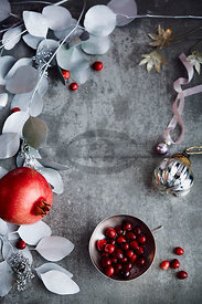 Cranberry and Pomegranate