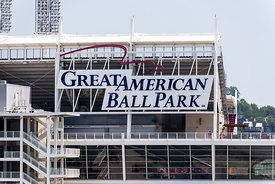Great American Ball Park Sign in Cincinnati