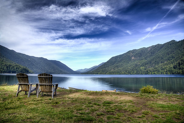 Owen_Roth-(Lake_Crescent_view_from_a_pair_of_chairs)2009_08_26_ONP-LCLMorningLake_0345_46_47_49_50-00012