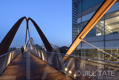 Chiswick Park Footbridge | Client: Useful Studio