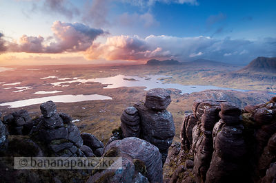 Suilven and Loch Sionascaig - BP3098B