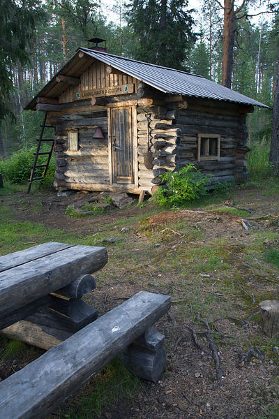 Wilderness Cabin of Laukkujärvi