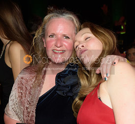 Tara Birch, Antonia Shaw. The Quorn Hunt Ball