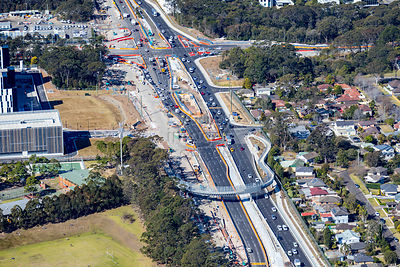 Frenchs Forest Roadworks