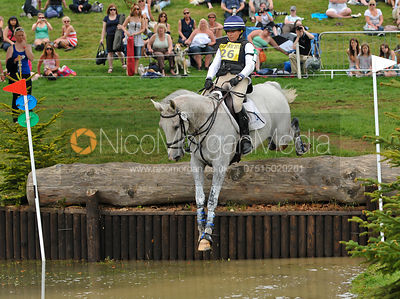 KESLYEOU TU and Kate Rocher, Bramham Horse Trials, 2010