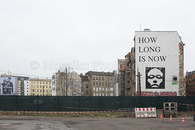 BERLIN - FEBRUARY 18: The Kunsthaus Tacheles on February 18 in Berlin - Side view. The Tacheles was an art center in Berlin M...
