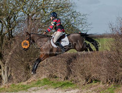 Helen Scholl and Blackstairs King competing at Oasby Horse Trials 2011. These images are not for sale to competitors.