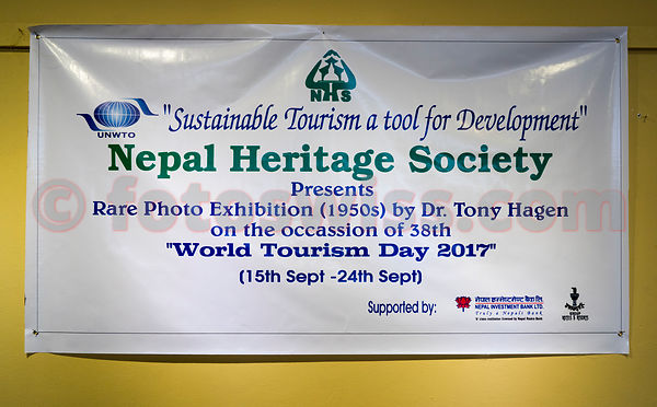 Dr. Katrin Hagen - Photo Exhibition Nepal Heritage Society Kathmandu