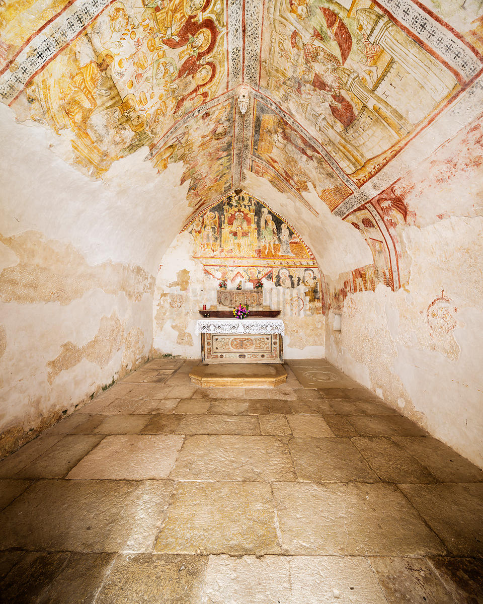 Interior of Sveti Duh (The Holy Spirit Church)