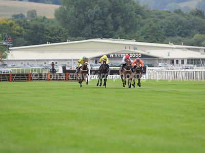 Wed 21st Aug 2013 6.40pm Novices Hurdle with winner Kilbree Kid