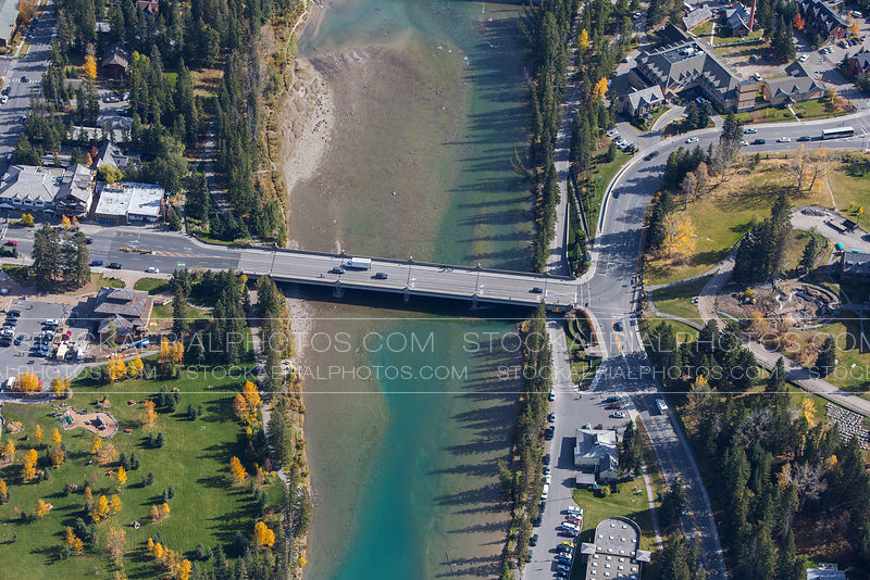 Bow River Bridge, Banff