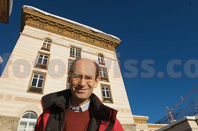 Amedeo Clavarini (Milano) - Owner of the Maloja Palace Hotel