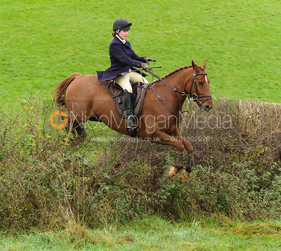 Yasmin Farmer-Day - The Cottesmore Hunt at Tilton on the Hill, 9-11-13