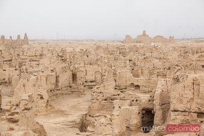 Ancient city of Jiaohe, Xinjiang, China