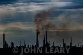 Fawley Refinery Skyline.