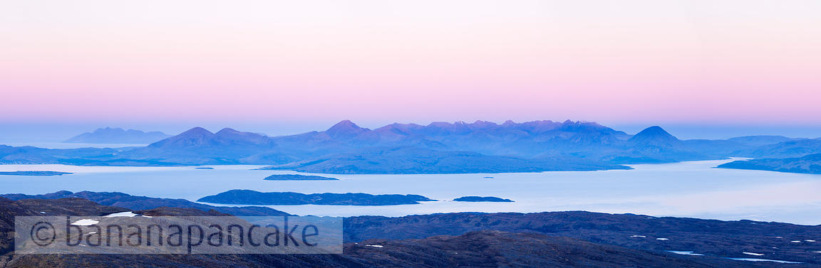 BP2961 - The Isle of Skye from the Applecross Peninsula