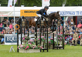 Simon Grieve and DOUGLAS - Bramham International Horse Trials, June 2017