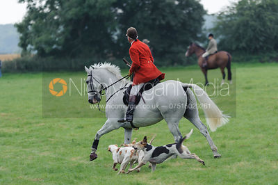 - The Cottesmore Hunt autumn hunting near Knossington, Leicestershire, September 2013.
