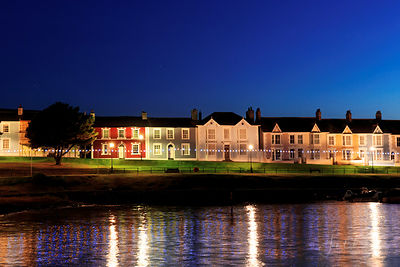 ABERAERON AT NIGHT