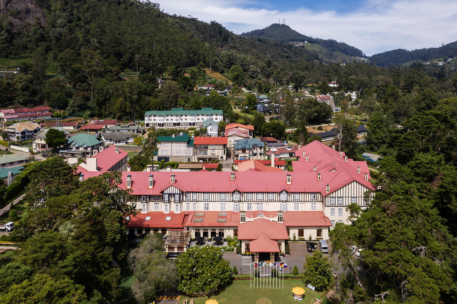 Aerial View of the Grand Hotel