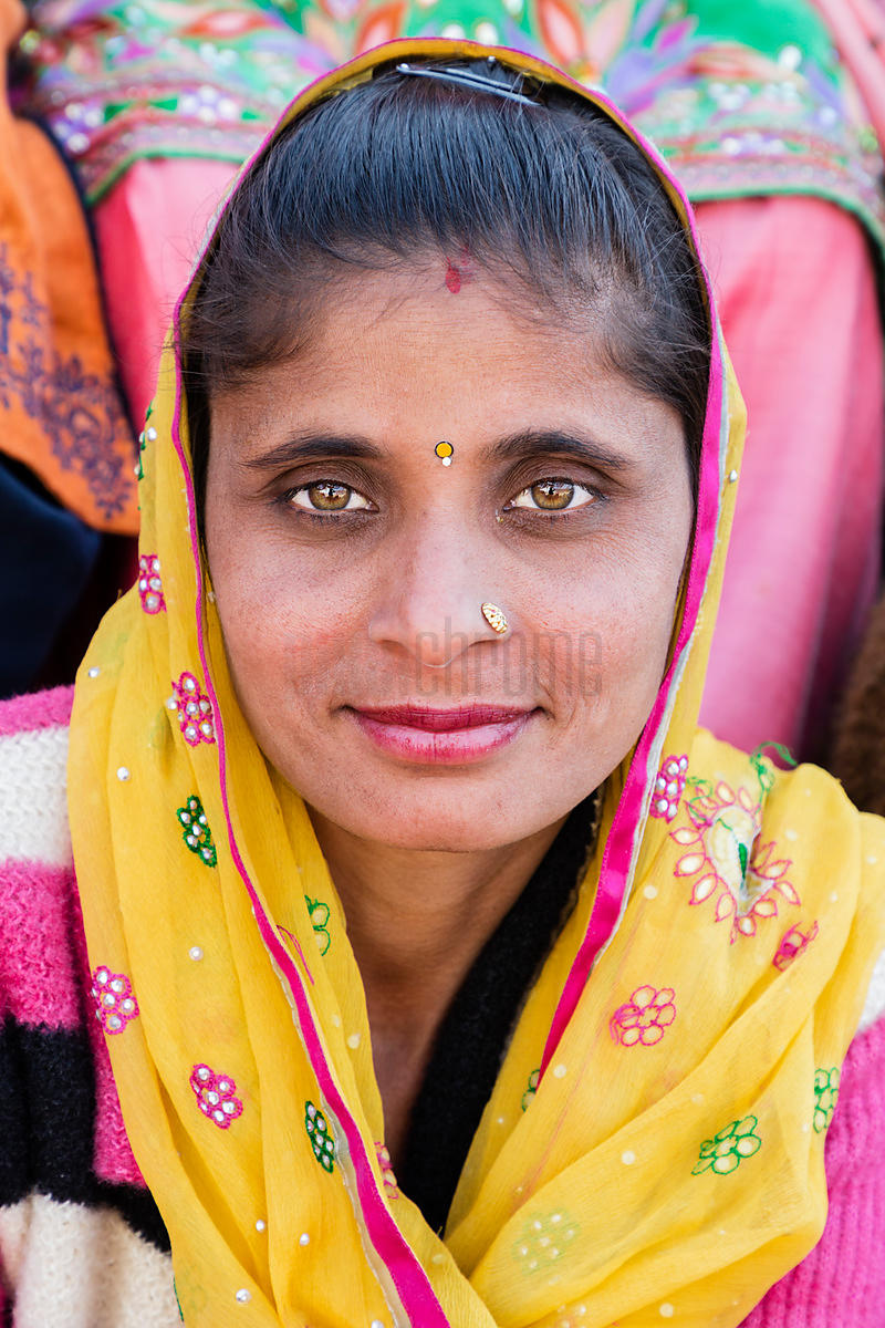 Portrait of a Sikh Woman