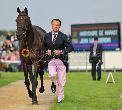 Jean Luc Goerens and Marychope De Marast - 2nd Inspection - Burghley 2010