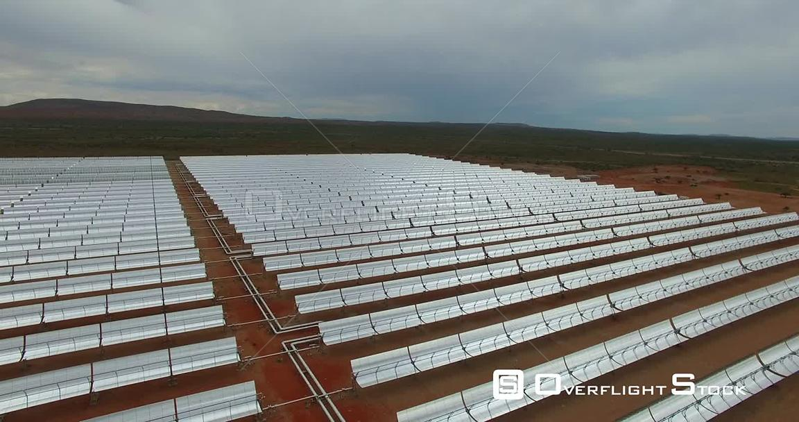 Bokpoort Concentrated Solar Power CSP Thermal Energy Molten Salt Plant South Africa
