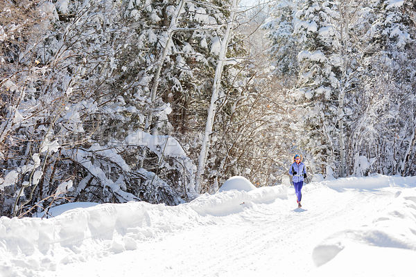 Active Lifestyle - Winter Trail Running