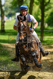 Andrew James and BENELUX CASINO ROYALE, Fairfax & Favor Rockingham Horse Trials 2018