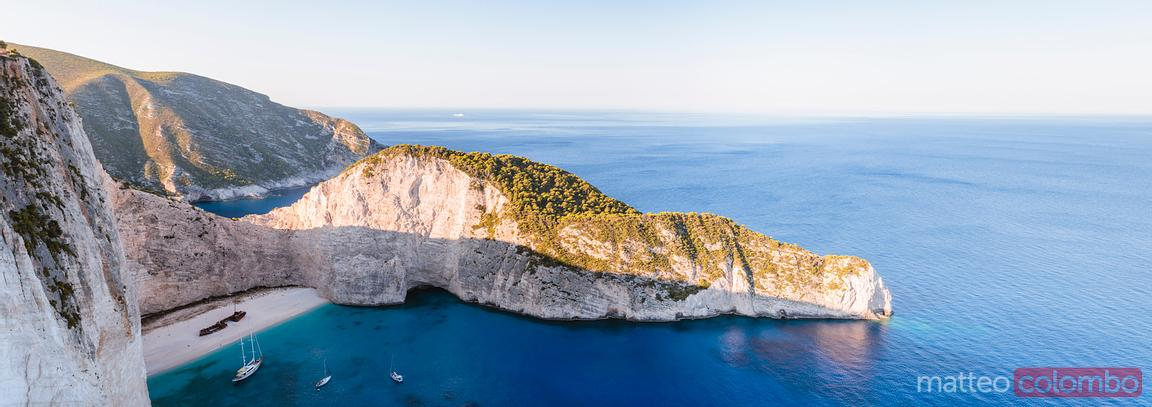 Famous Navagio shipwreck beach. Zakynthos, Greek Islands, Greece