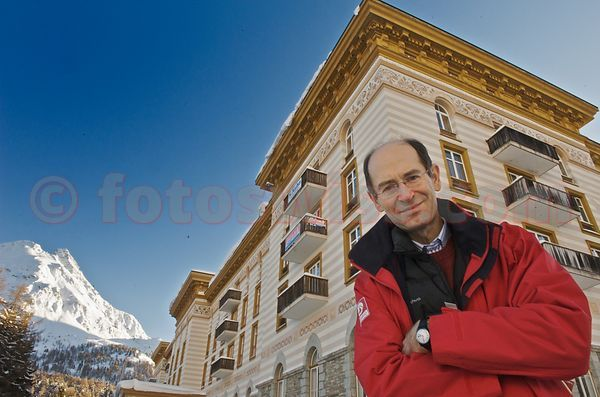 Amedeo CLAVARINO - owner Maloja Palace Hotel