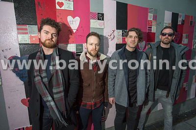 14th January, 2017.The band Imlé who are from left:Cian Morgan-McCarthy,Fergal Moloney, Marcus Mac Conghail and Pádraig Ó Con...
