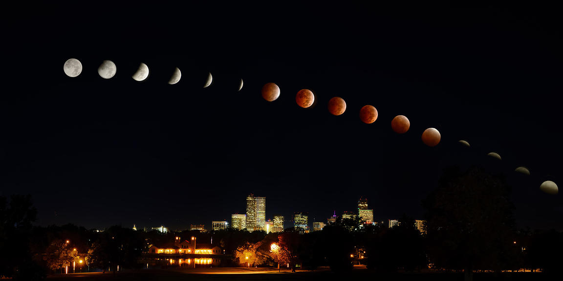 Denver Blood Moon