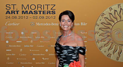 SAM St.Moritz Art Masters 2012 Cartier Night at Badrutt's Palace Hotel