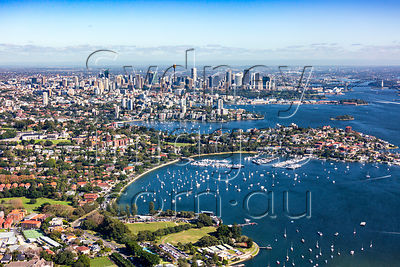 Rose Bay to Sydney City
