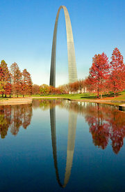Arch and Reflection - Autumn