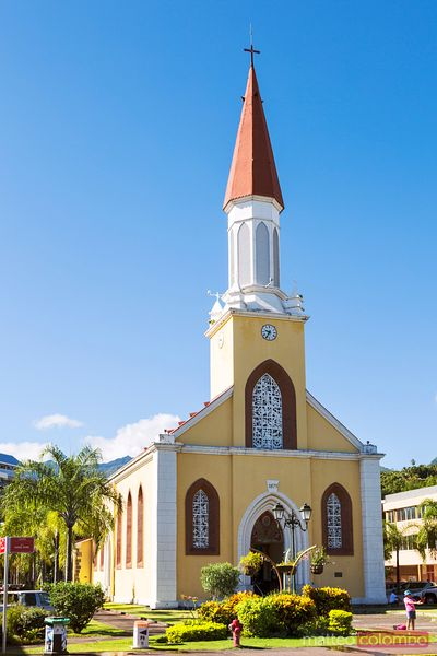 Notre Dame Cathedral, Papeete, Tahiti