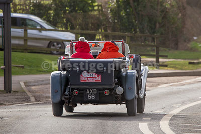 The Monte-Carlo Historique Rally 2018 - Banbury