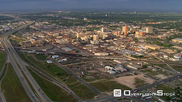 Wide view of Lubbock, Texas.
