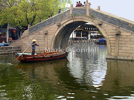Zhouzhuong water village China,.,