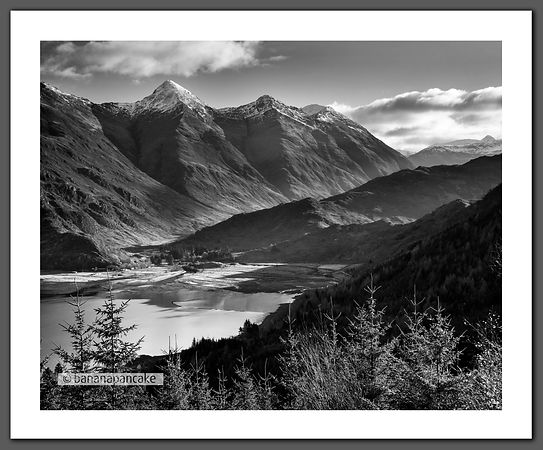 The Five Sisters of Kintail (BP2268B_BW)