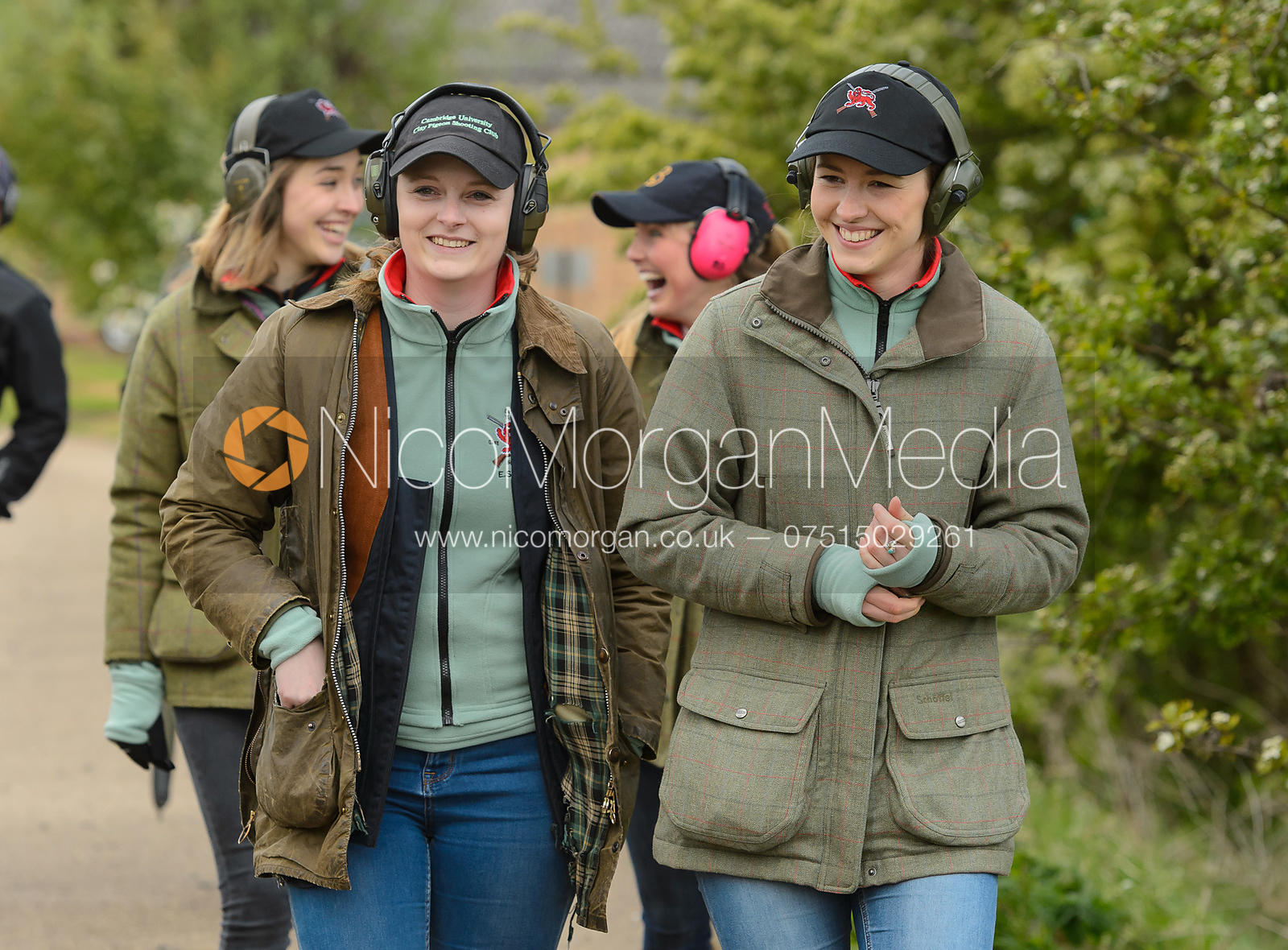 Emily Kruger, Eleanor Miller - Varsity Clay Pigeon Shooting, April 2017
