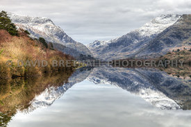 Llyn Padarn & Snowdonia Mountains Reflections