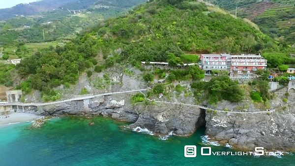 UNESCO World Heritage Site Cinque Terre Villiage Italian Riviera. Centuries old seaside village on the rugged Italian Riviera...