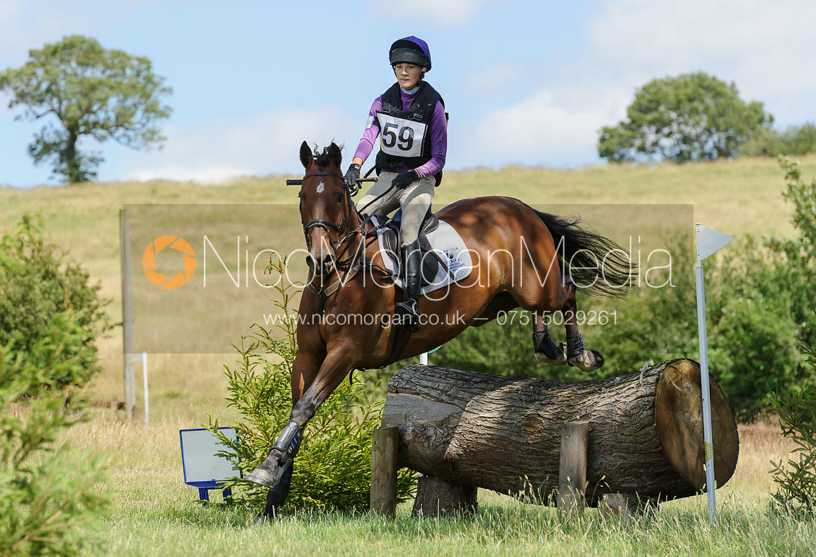 Isobel McEuen and SHANNONDALE VINTAGE - Cottesmore One Day Event 2015