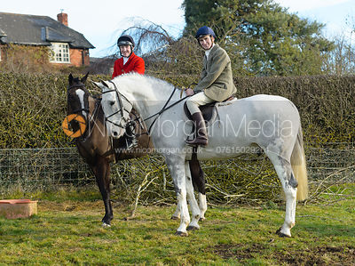 The Cottesmore Hunt at Hill Top Farm 19/12
