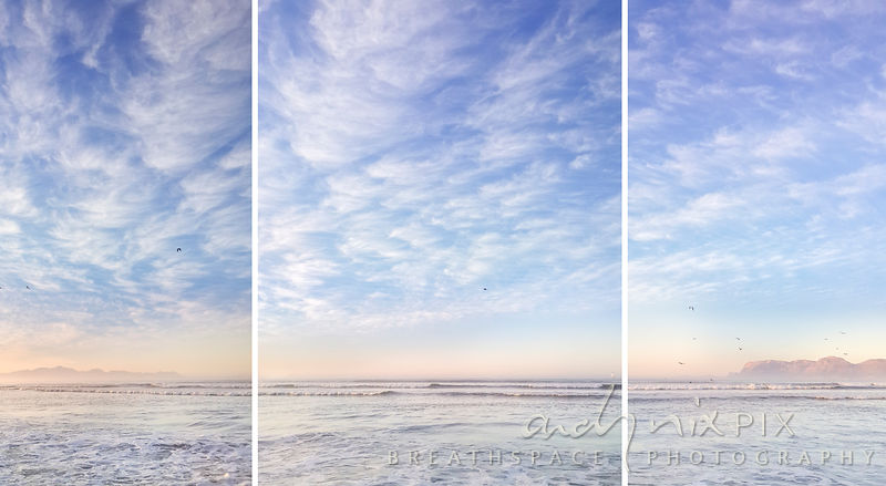 Softly at Sunrise (Triptych 3 of 3)