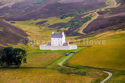 16th century Corgarff Castle in Aberdeenshire, Scotland - Stock photo