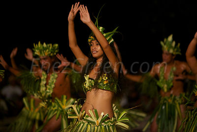 Dances at Rangiroa's Heiva
